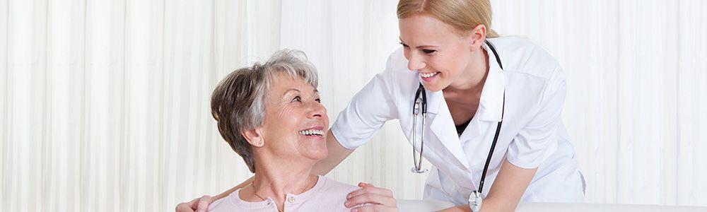 Уход за пожилым человеком в доме престарелых
