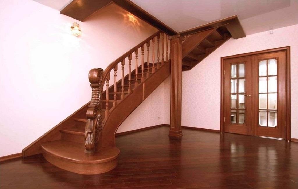 Деревянные лестницы от 【Ковка Киев】