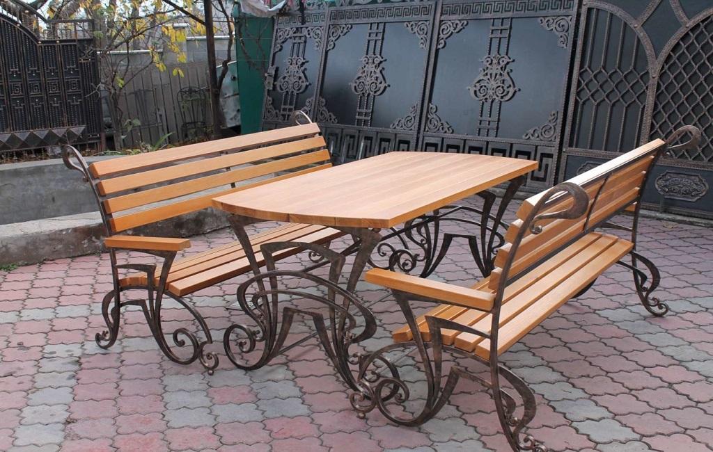 Кованая мебель от 【Ковка Киев】